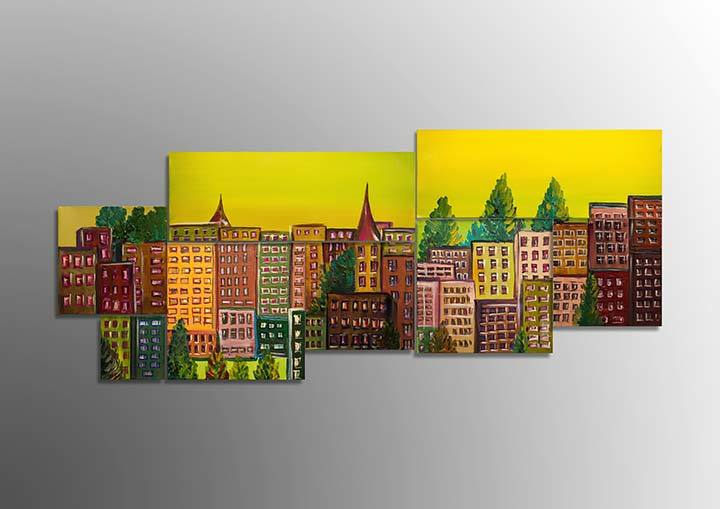 Artwork 'Modular City'
