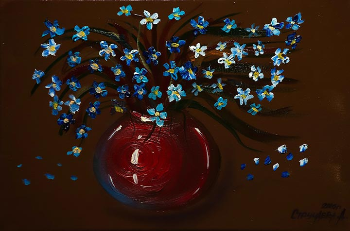 Artwork 'Forget me nots'