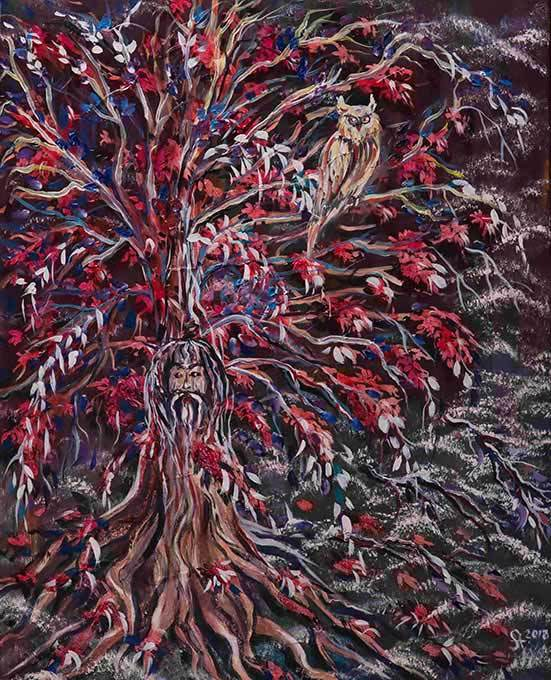 Artwork 'Wisdom Tree'
